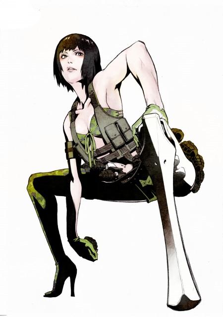 Yuusuke Kozaki, KYMG - Yusuke Kozaki Illustrations, No More Heroes, Holly Summers