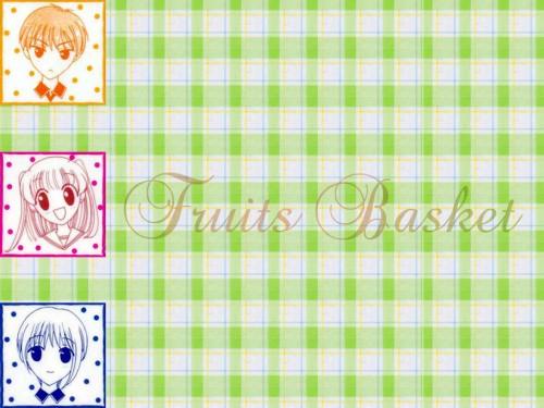 Natsuki Takaya, Fruits Basket, Tohru Honda, Yuki Sohma, Kyo Sohma Wallpaper