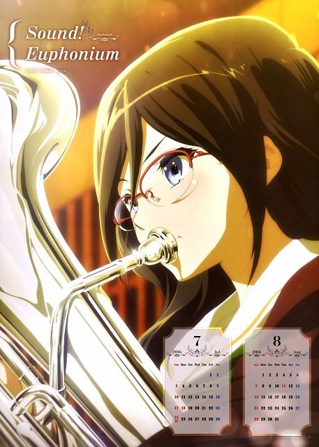 Pony Canyon, Kyoto Animation, Hibike! Euphonium, Hibike! Euphonium Calendar 2016, Asuka Tanaka