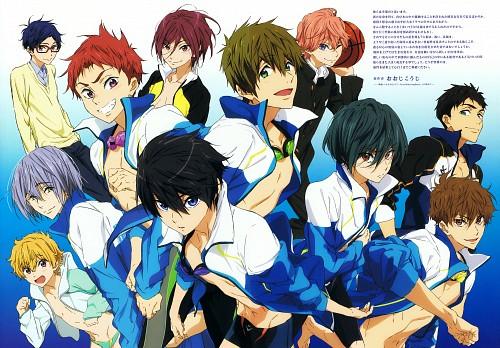 Futoshi Nishiya, Kyoto Animation, Free!, Kisumi Shigino, Rin Matsuoka