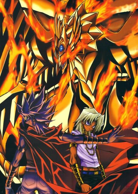 Kazuki Takahashi, Studio Gallop, Yu-Gi-Oh Duel Monsters, Marik Ishtar, Winged Dragon of Ra