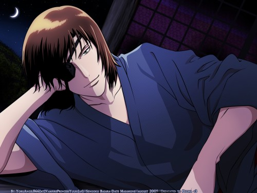 Makoto Tsuchibayashi, Capcom, Production I.G, Sengoku Basara, Masamune Date Wallpaper