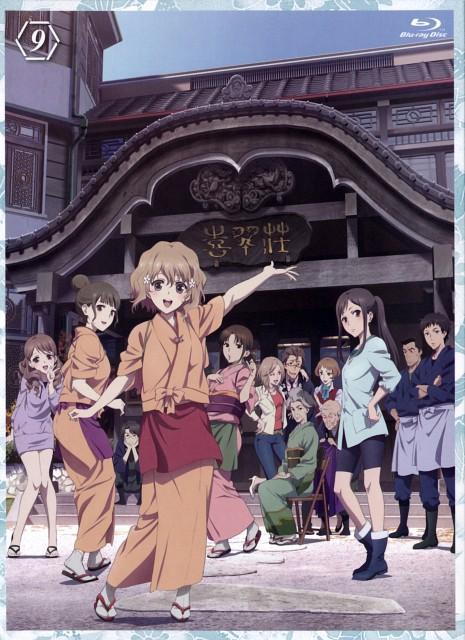Kanami Sekiguchi, P.A. Works, Hanasaku Iroha, Yuina Wakura, Tomoe Wajima