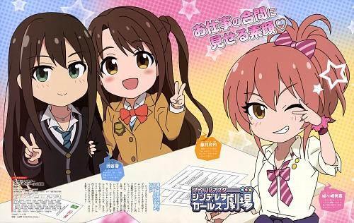 Aniplex, A-1 Pictures, Namco, Idol Master: Cinderella Girls, Idol Master