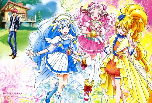 Toei Animation, HUGtto! Precure, Cure Ange, Cure Yell, Hariham Harry
