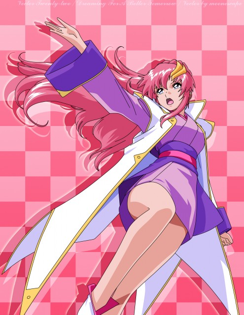 Sunrise (Studio), Mobile Suit Gundam SEED, Lacus Clyne, Vector Art