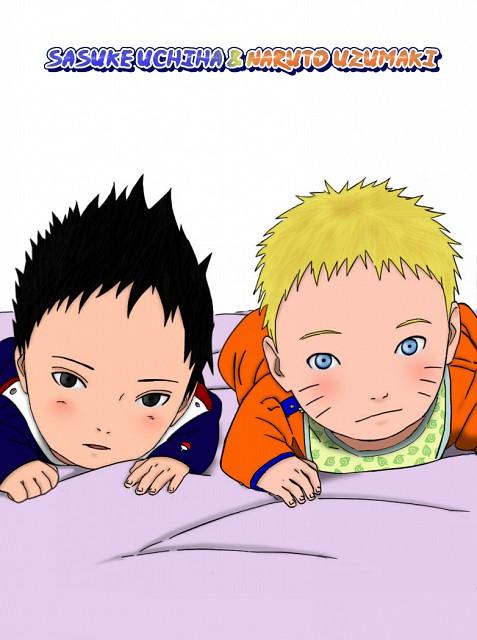 Naruto, Naruto Uzumaki, Sasuke Uchiha, Colorizations