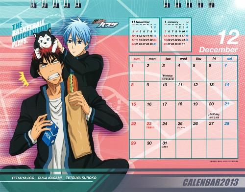 Tadatoshi Fujimaki, Production I.G, Kuroko no Basket, Kuroko no Basket 2013 Anime Calendar, Taiga Kagami
