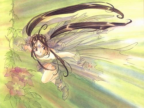 Kousuke Fujishima, Anime International Company, Ah! Megami-sama, Ah! Megami-sama Postcard Book, Skuld