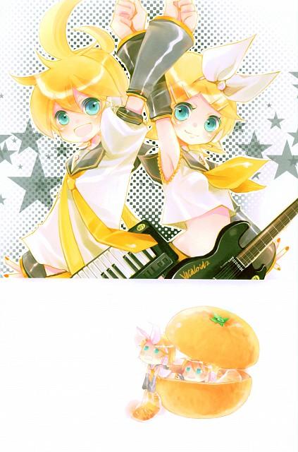 Shimeko, Landmark, Vocaloid, Len Kagamine, Rin Kagamine