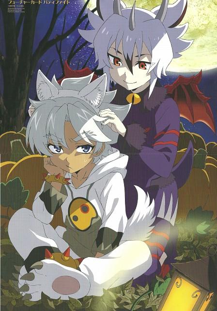 Xebec, Future Card Buddyfight, Rouga Aragami, Kyoya Gaen, Animage