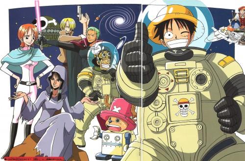 Eiichiro Oda, One Piece, Roronoa Zoro, Sanji, Monkey D. Luffy