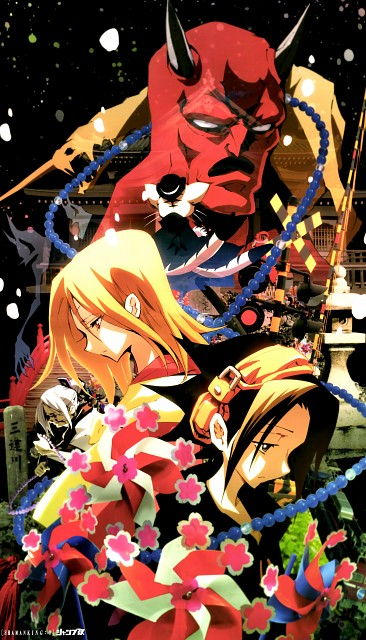 Hiroyuki Takei, Xebec, Shaman King, Matamune, Anna Kyouyama