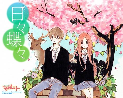 Suu Morishita, Hibi Chouchou, Suiren Shibaseki, Kouha Kawasumi, Official Wallpaper