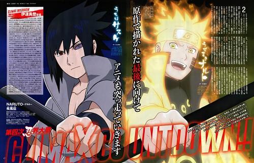 Studio Pierrot, Naruto, Sasuke Uchiha, Naruto Chakra Mode, Animedia
