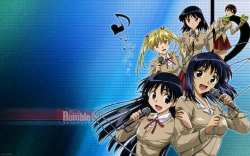 School Rumble, Tenma Tsukamoto, Akira Takano, Yakumo Tsukamoto, Eri Sawachika Wallpaper