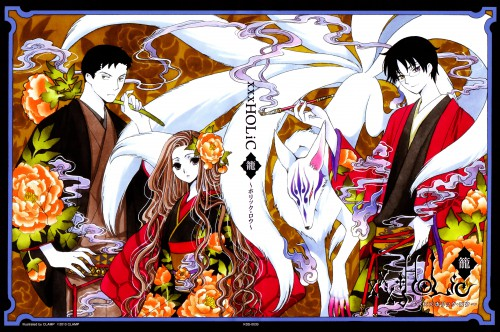 CLAMP, Production I.G, xxxHOLiC, Shizuka Doumeki, Kimihiro Watanuki