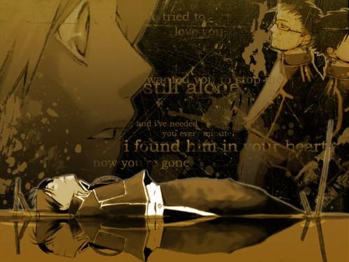 Hiromu Arakawa, BONES, Fullmetal Alchemist, Maes Hughes, Roy Mustang Wallpaper
