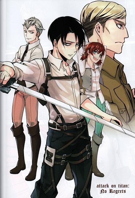Hikaru Suruga, Production I.G, Shingeki no Kyojin, Levi Ackerman, Erwin Smith
