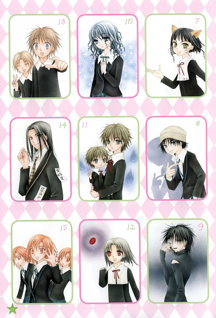Tachibana Higuchi, Gakuen Alice, Graduation - Gakuen Alice Illustration Fan Book, Kokoro Yome, Rei Serio