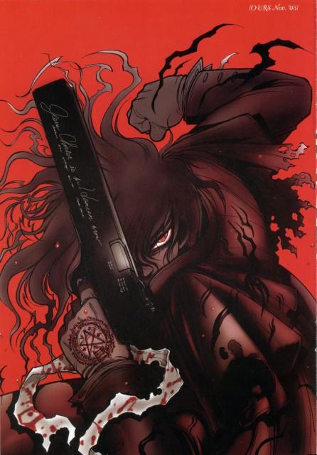 Kouta Hirano, Geneon/Pioneer, Hellsing, Hellsing Illustration Selection, Alucard