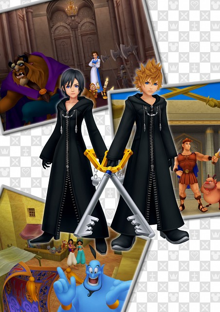 Square Enix, Kingdom Hearts, Philoctetes, Princess Jasmine, Roxas