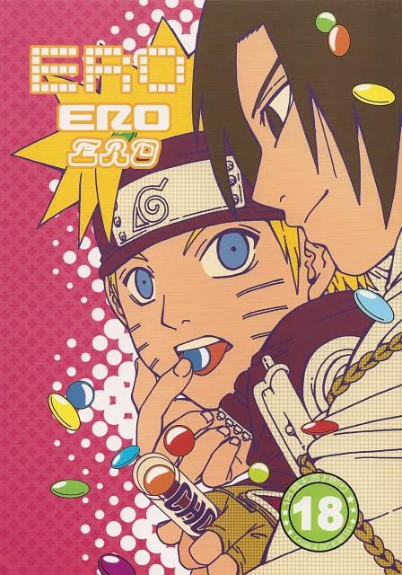 Natsumi Sorano, Naruto, Sasuke Uchiha, Naruto Uzumaki, Doujinshi Cover