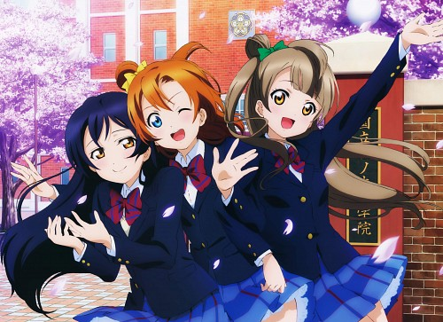 Sunrise (Studio), Love Live! Perfect Visual Collection - Smile, Love Live! School Idol Project, Honoka Kosaka, Umi Sonoda