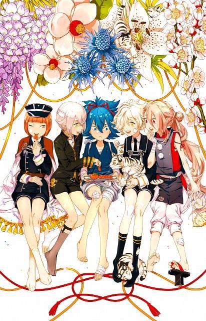 Nitro+, Touken Ranbu, Maeda Toushirou, Samonji Sayo, Imanotsurugi
