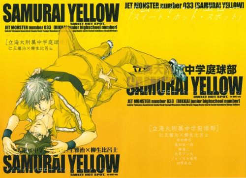 Prince of Tennis, Doujinshi, Doujinshi Cover