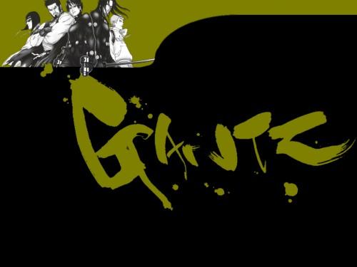 Hiroya Oku, Gonzo, Gantz, Daizaemon Kaze, Kei Kurono Wallpaper