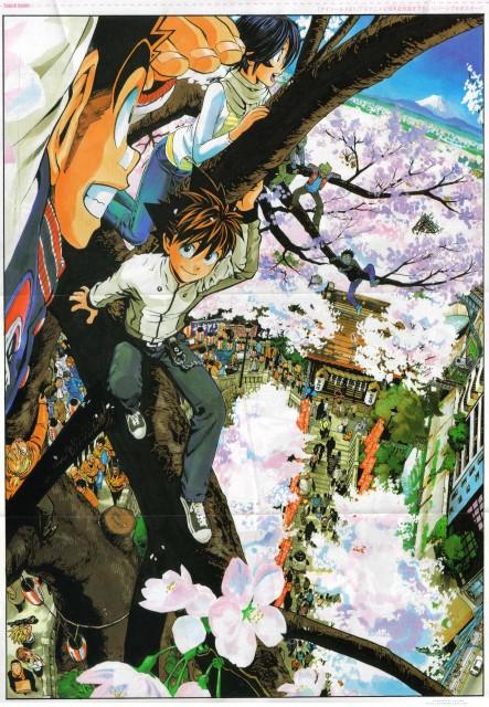Yuusuke Murata, Studio Gallop, Eyeshield 21, Yoichi Hiruma, Suzuna Taki