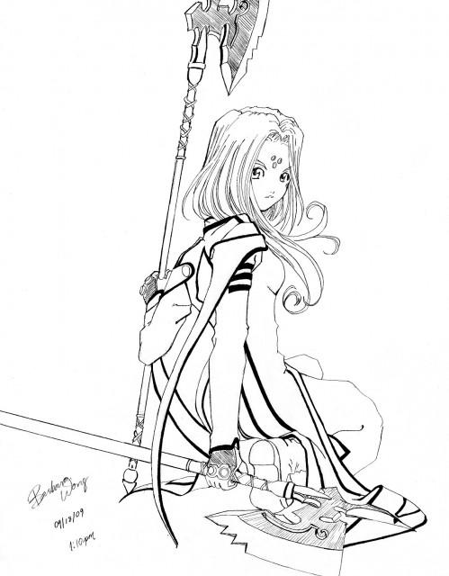 Kousuke Fujishima, Ah! Megami-sama, Lind, Member Art