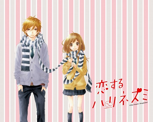 Nao Hinachi, Koisuru Harinezumi, Kii Ozawa, Hozuki Heiji, Official Wallpaper