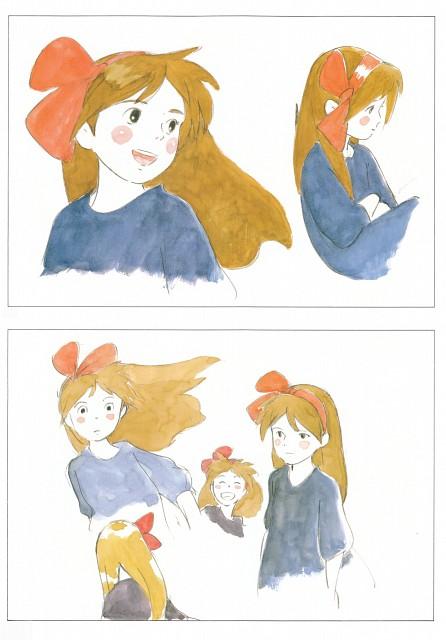 Hayao Miyazaki, Studio Ghibli, Kiki's Delivery Service, The Art of Kiki's Delivery Service, Kiki Okino