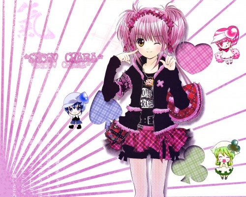 Peach-Pit, Satelight, Shugo Chara, Ran (Shugo Chara), Su Wallpaper
