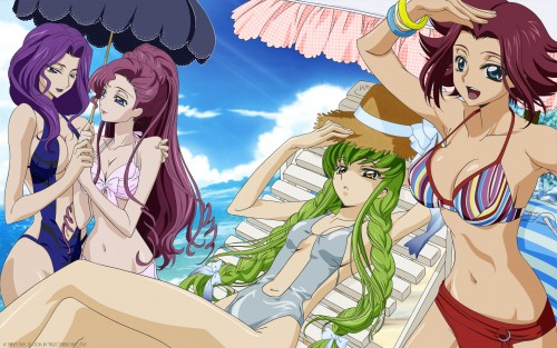 Takahiro Kimura, Sunrise (Studio), Code Geass: Lelouch of the Rebellion, Cornelia Li Britannia, Euphemia Li Britannia Wallpaper