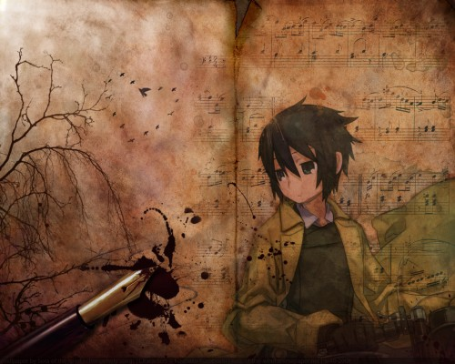 Kino no Tabi, Kino Wallpaper