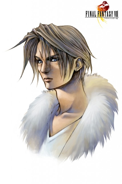 Square Enix, Final Fantasy VIII, Squall Leonhart, Official Digital Art