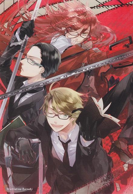 Kazuaki, A-1 Pictures, Kuroshitsuji, Nijishitsuji Rainbow Butler 2 - Comic Anthology, Grell Sutcliff