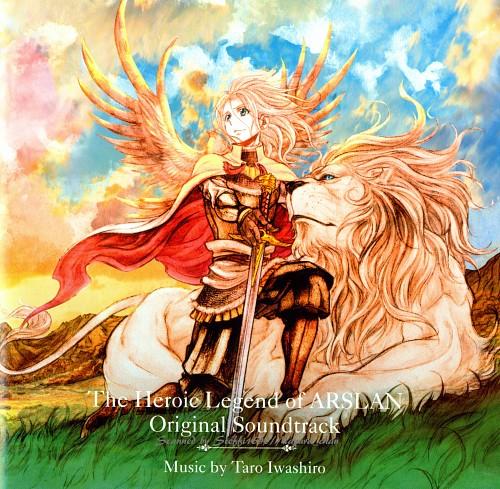 Hiromu Arakawa, SANZIGEN, Heroic Legend of Arslan (Hiromu Arakawa), Arslan (Hiromu Arakawa), Album Cover