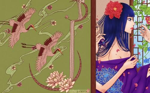 Mi-Kyung Yun, Bride of the Water God, Soah, Vector Art Wallpaper