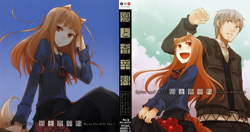 Juu Ayakura, Spice and Wolf, Kraft Lawrence, Horo, DVD Cover