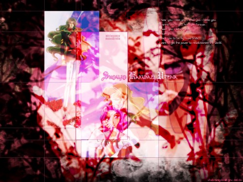 Chiho Saito, Shoujo Kakumei Utena, Anthy Himemiya, Kyouichi Saionji Wallpaper