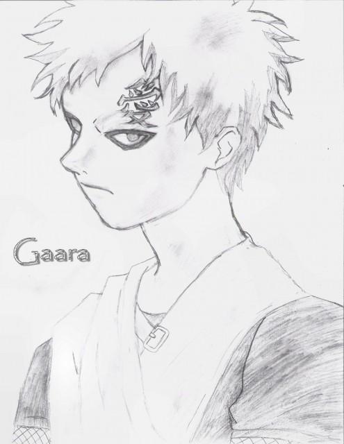 Studio Pierrot, Naruto, Gaara, Member Art