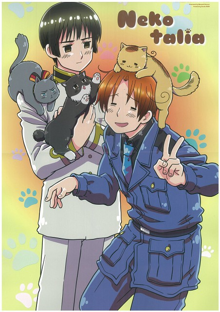 Hidekaz Himaruya, Studio DEEN, Hetalia: Axis Powers, Japan, Italy
