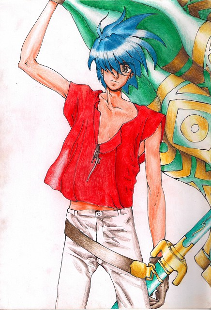 Sunrise (Studio), Tenkuu no Escaflowne, Van Fanel, Member Art
