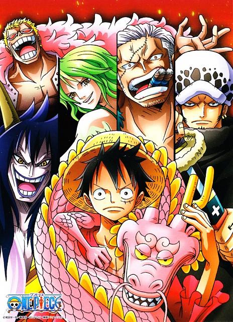 Eiichiro Oda, Toei Animation, One Piece, Caesar Clown, Smoker (One Piece)