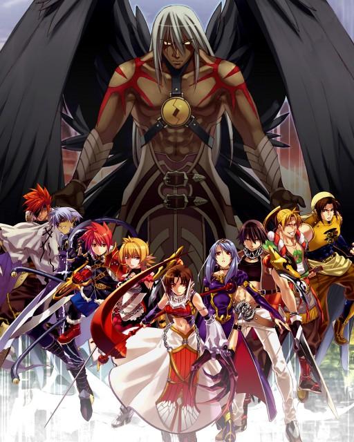 Spectral Souls, Spectral Force, Mayura, Hiro (Spectral Force), Roze