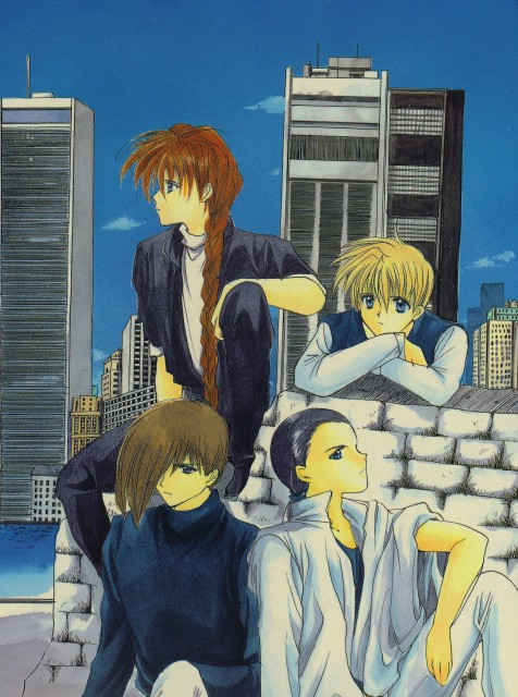 Sunrise (Studio), Mobile Suit Gundam Wing, Chang Wufei, Trowa Barton, Quatre Raberba Winner